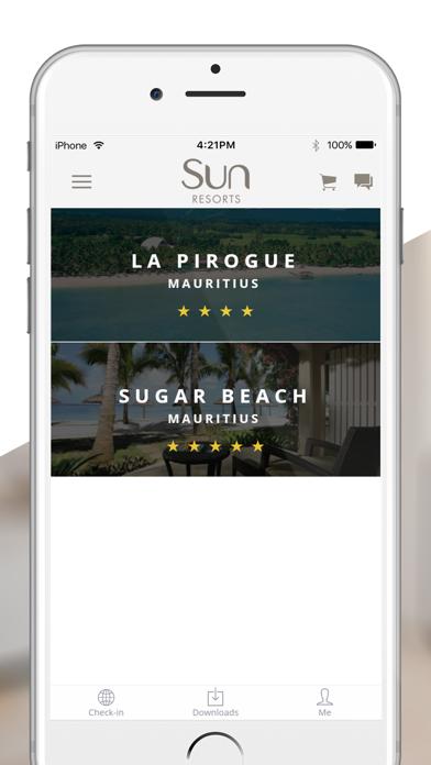 Sun Resorts screenshot one