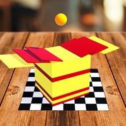 Note Swipe - A Ball Fall Game