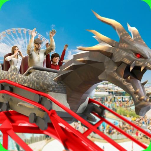 Roller Coaster Train Sim 2019