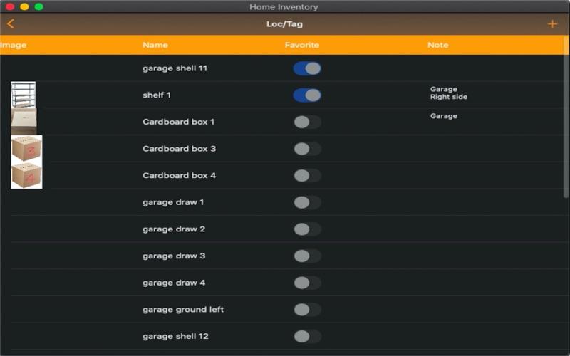 Easy Home Inventory скриншот программы 3