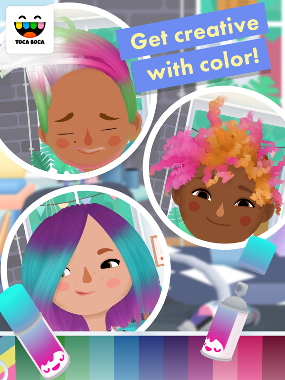 iPad Image of Toca Hair Salon 3