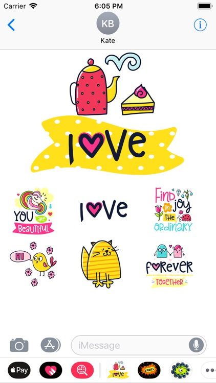 Stickers2Love screenshot-4