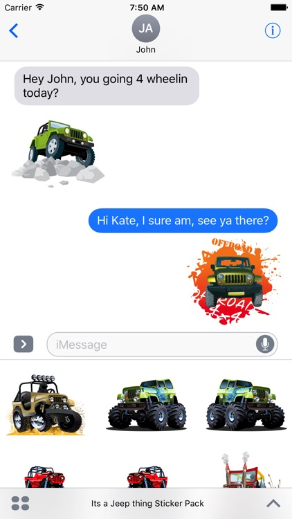 Its a Jeep Thing Sticker Pack