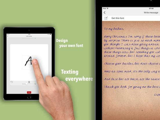 iPad Image of Fontise - Font Maker Keyboard