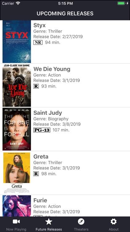 Movies & Showtimes screenshot-7