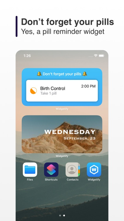 Widgetify : Customize Widgets screenshot-4