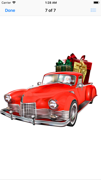 Screenshot for Christmas Cars in United States App Store