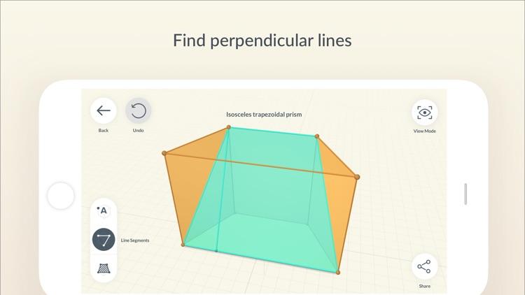 Shapes 3D - Geometry Drawing screenshot-5