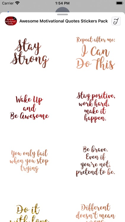 Awesome Motivational Quotes screenshot-4