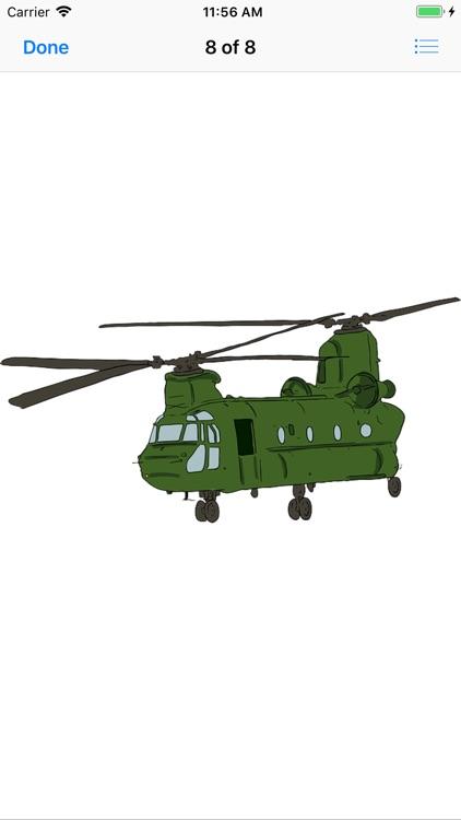 Lotsa Helicopter Stickers screenshot-9