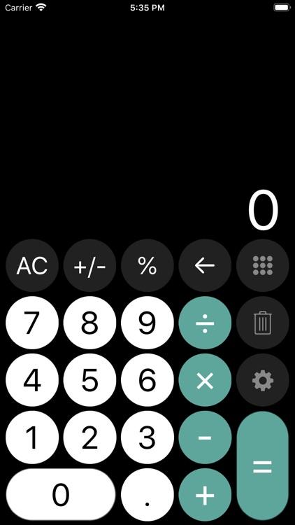 Calculator - with history tape screenshot-7