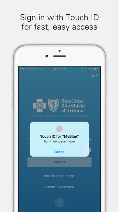 messages.download MyBlue AZ software