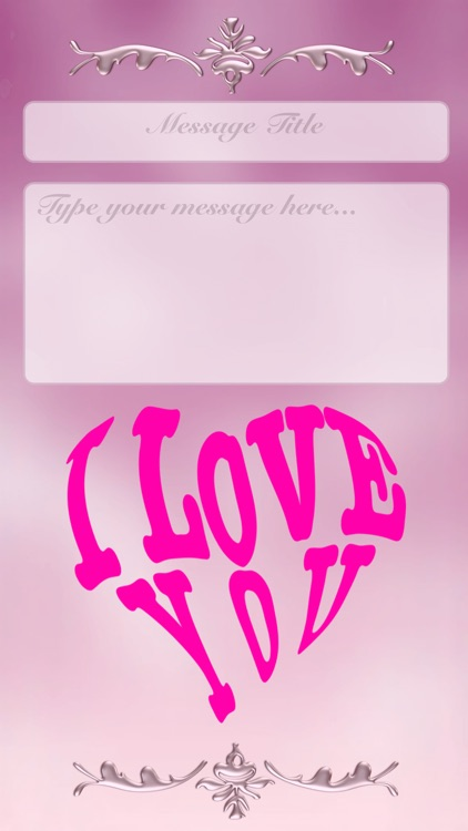 I Love You • Greeting cards