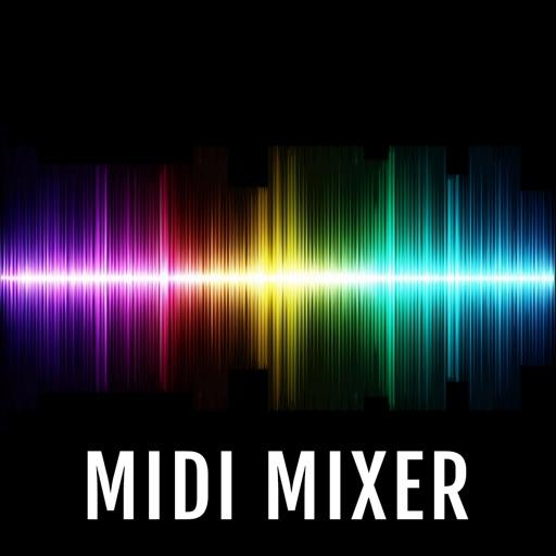 MidiMixer for AUM Auv3 Plugin