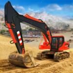excavatrice de construction 3d на пк