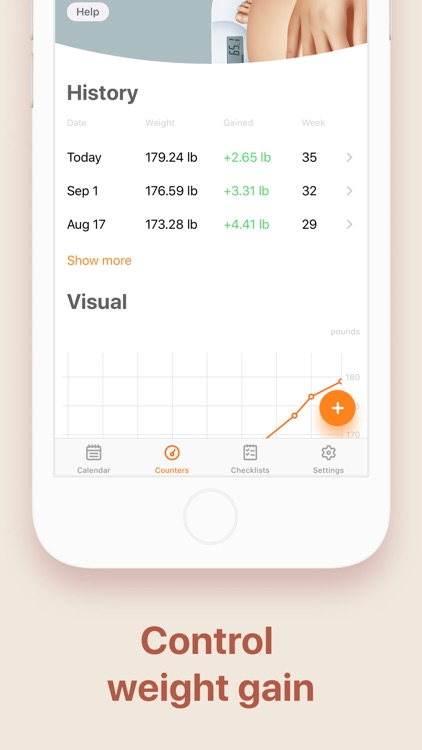 Pregnancy and Due Date Tracker screenshot-3