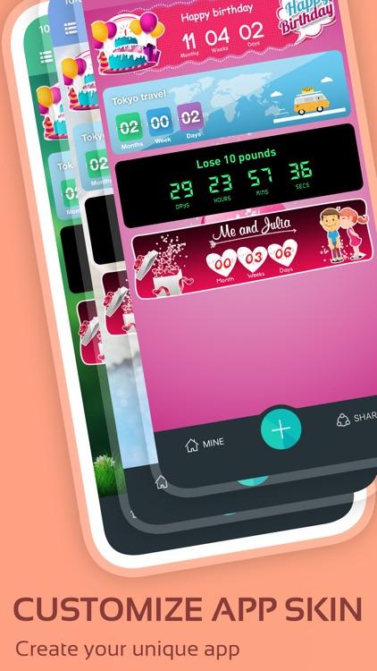Countdown widget & timer 321 screenshot-9