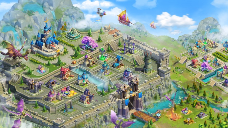 Sky Kingdoms: Dragon War screenshot-0