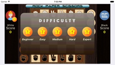 Screenshot for Rock Paper Scissors Strategic in Egypt App Store
