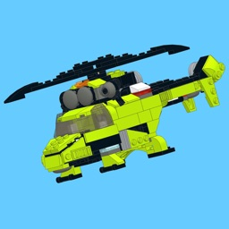 Green Copter for LEGO 31007