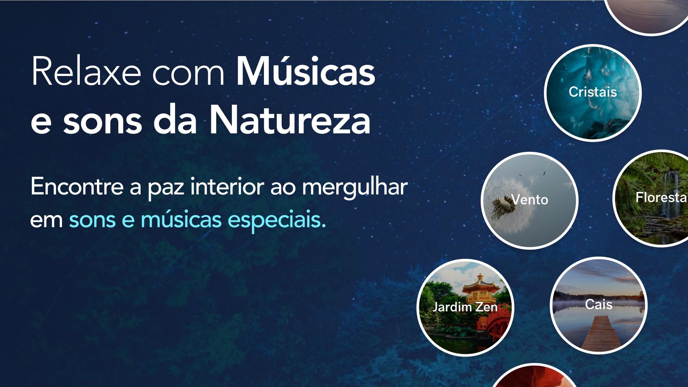 Screenshot do app Meditopia: Meditação, Sono