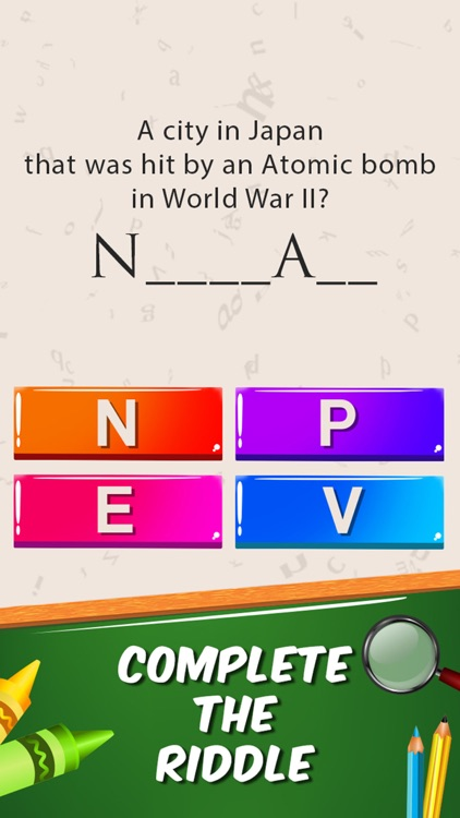 Guess Word General Knowledge