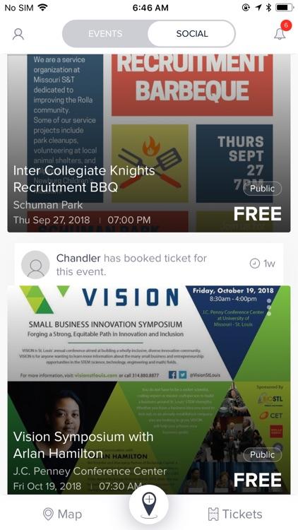 The Moves: Social Event App screenshot-4