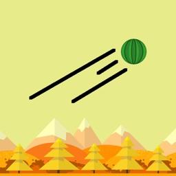 Watermelon Lander - Watch Game