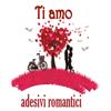 Adesivi amore e romanticismo