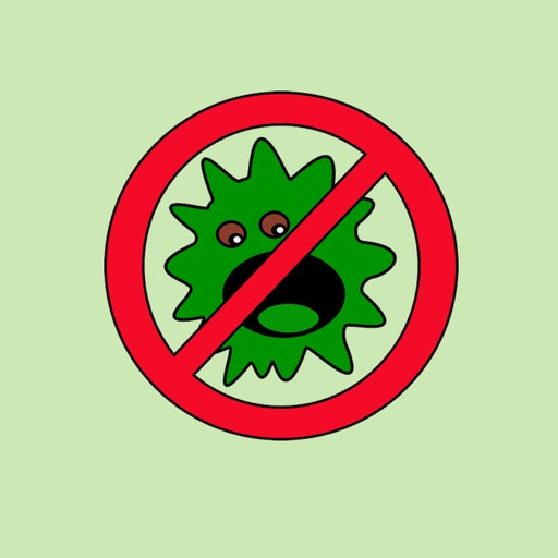 Germ Stickers app logo