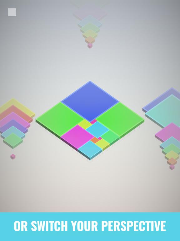 Isometric Squares - puzzle ²のおすすめ画像4