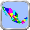 Mexico Puzzle Map