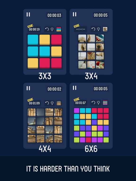 Flat Cube : 2D Cube Puzzle screenshot 10