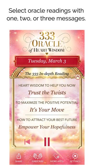 333 - Oracle of Heart Wisdom screenshot 2