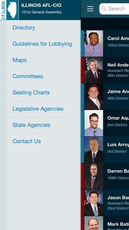IL AFL-CIO Leg. Directory