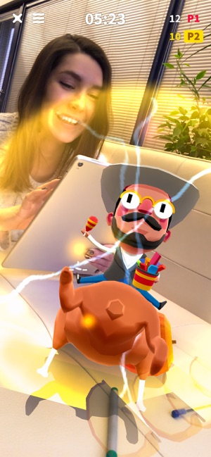 Flippy Friends Fruit Crush AR Screenshot