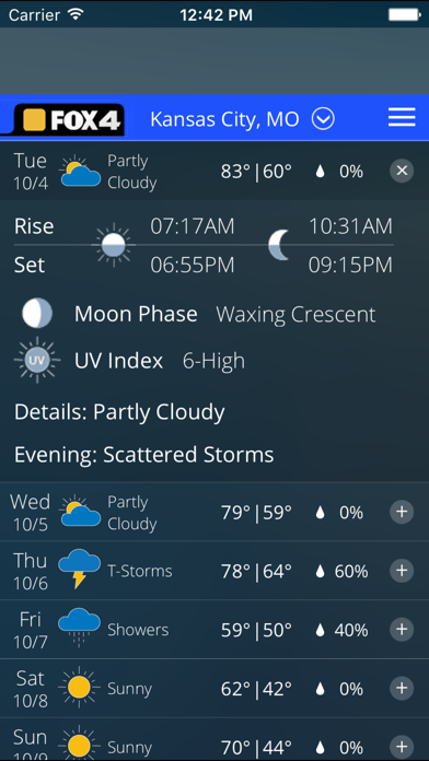 WDAF Fox 4 Kansas City Weatherのおすすめ画像3