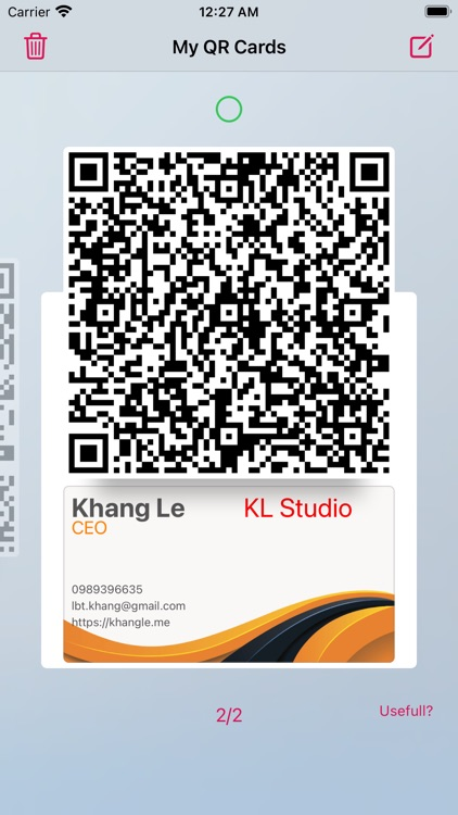 Contactless Business Card Pro screenshot-4