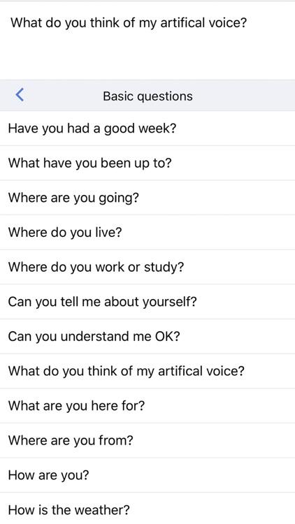 Text to Speech AAC Assistant screenshot-3