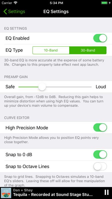 SpotEQ app image