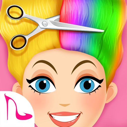 Super Hair Salon: Makeup Games Icon
