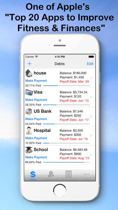 Debt Snowball Pro - Pay Debt screenshot one