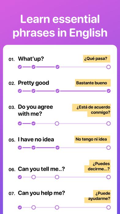 Tongo - Learn English Screenshot