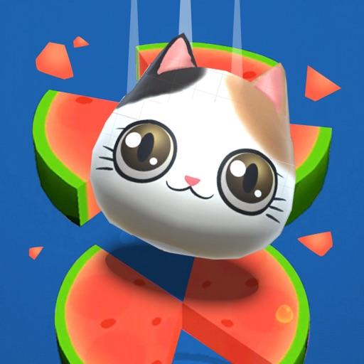 Cat Jump Round iOS App