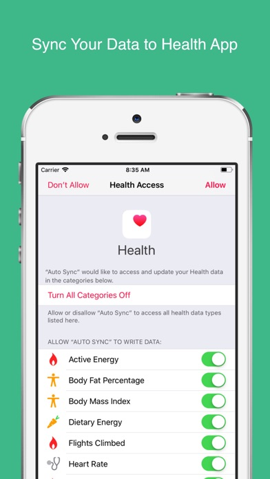 Auto Sync for Fitbit to Healthのおすすめ画像2
