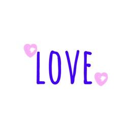 LOVE MSG Sticker Pack