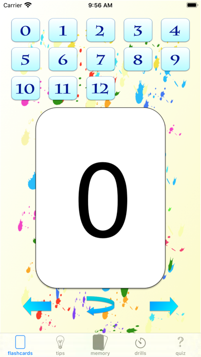multiplication drills: X screenshot 2