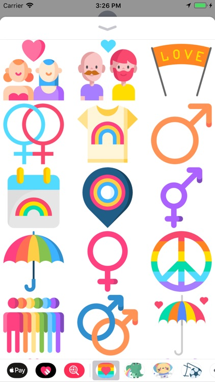 Beautiful Pride Stickers