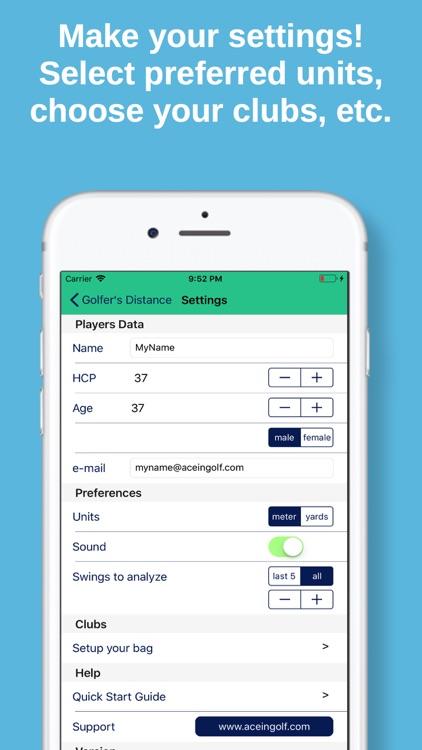 Golfer's Distance Pro screenshot-4
