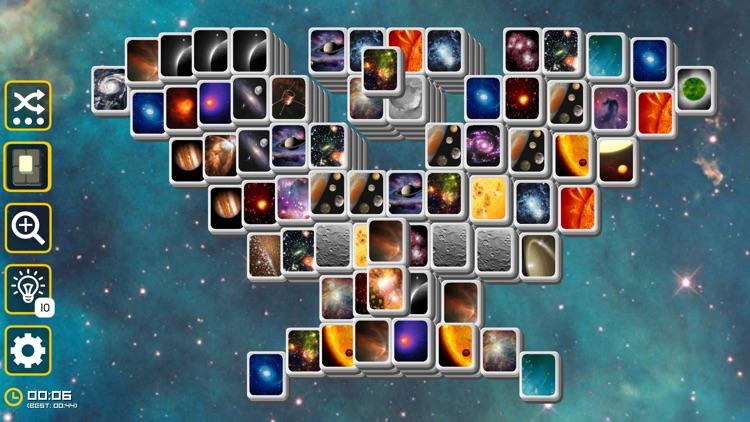Mahjong Galaxy Space & Towers screenshot-7